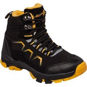 Lewro TAMMY černá 34 - Dětská zimní obuv