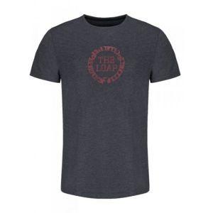Loap ARIC šedá L - Pánské triko