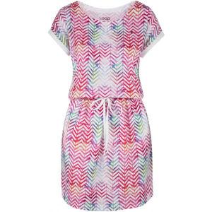 Loap ALORKA růžová M - Dámské šaty