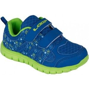 Loap FINN KID modrá 25 - Dětská vycházková obuv