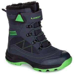 Loap CUSHINE černá 33 - Dětská zimní obuv