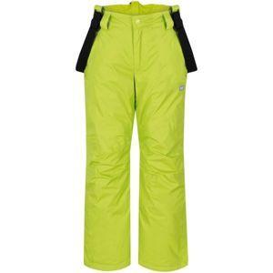 Loap FIDOR zelená 152 - Dětské zimní kalhoty