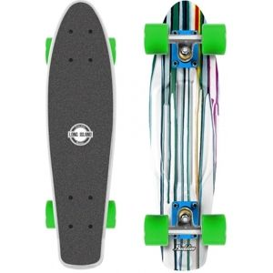 Long Island PAINTER22 - Plastový mini longboard