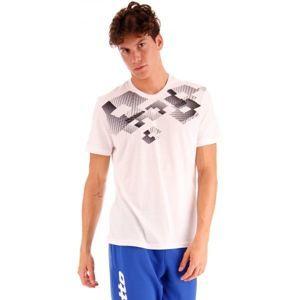 Lotto L73 V TEE LOSANGA JS bílá S - Pánské triko