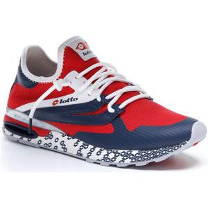 Lotto ATHLETICA RUN LIGHT červená 45 - Pánská volnočasová obuv