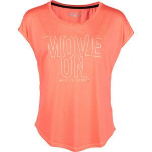 Lotto DINAMICO W II TEE PRT VI růžová XL - Dámské tričko