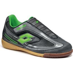 Lotto GALAXY III ID JR S černá 27 - Dětská sálová obuv