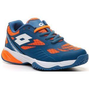 Lotto SUPERRAPIDA 200 JR L modrá 37 - Dětská tenisová obuv