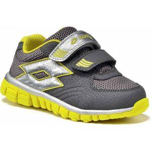 Lotto SUNRISE II INFANT S tmavě šedá 22 - Dětská sportovní obuv