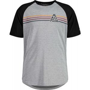 Maloja ALMENM TIGER MULTI šedá L - Pánské multisportovní triko
