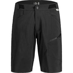 Maloja FUORNM černá XL - Pánské šortky na kolo