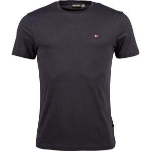 Napapijri SELIOS 2 černá L - Pánské tričko
