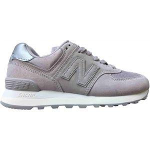 New Balance WL574LCS šedá 4 - Dámská volnočasová obuv