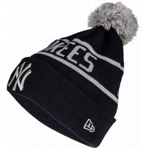 New Era MLB BOBB NEW YORK YANKEES černá  - Pánská zimní čepice