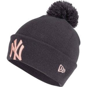 New Era WMNS MLB BOBBLE KNIT NEW YORK YANKEES  UNI - Dámská zimní čepice