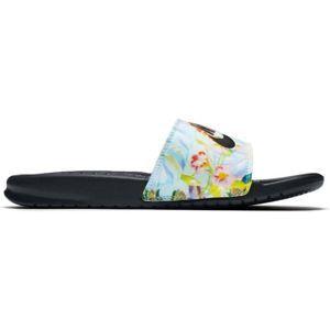 Nike BENASSI JDI PRINT W černá 8 - Dámské pantofle