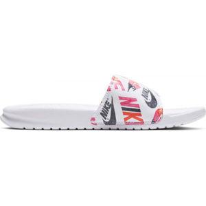 Nike BENASSI JUST DO IT bílá 9 - Dámské pantofle