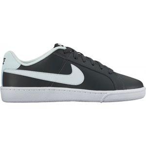 Nike COURT ROYALE tmavě šedá 7 - Dámské volnočasové boty