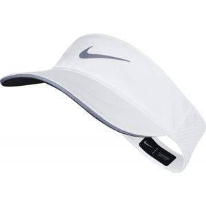 Nike AROBILL VISOR TW ELITE bílá S/M - Dámská kšiltovka