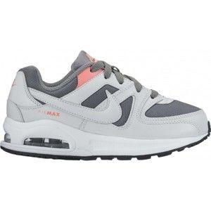 Nike AIR MAX COMMAND FLEX šedá 1.5Y - Dětské boty
