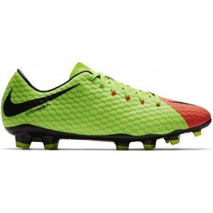 Nike HYPERVENOM PHELON III FG zelená 8.5 - Pánské kopačky