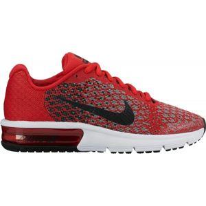 Nike AIR MAX SEQUENT 2 GS červená 5.5Y - Dětská vycházková obuv
