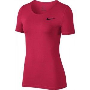 Nike TOP SS ALL OVER MESH W - Dámský top