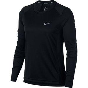 Nike MILER TOP LS černá S - Dámské běžecké triko