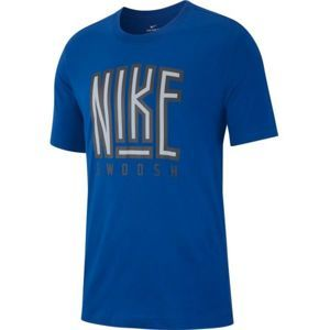 Nike NSW TEE SWOOSH BB CORE - Pánské triko