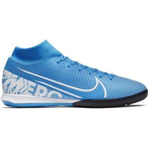 Nike MERCURIAL SUPERFLY 7 ACADEMY IC modrá 8.5 - Pánské sálovky