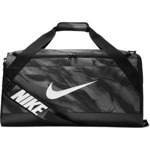 Nike BRASILIA M DUFF - AOP - Tréninková sportovní taška