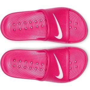 Nike KAWA SHOWER GS růžová 4Y - Dětské pantofle