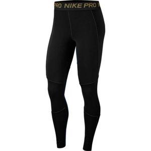 Nike NP FIERCE 7/8 TIGHT černá XL - Dámské legíny