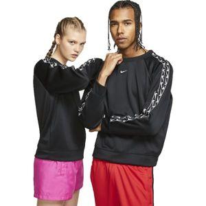 Nike NSW CREW LOGO TAPE W černá M - Dámská mikina