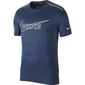 Nike DF BRTHE RUN TOP HBR M - Pánské běžecké tričko