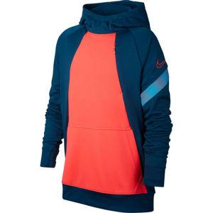 Nike DRY ACDPR HOODIE FP B oranžová M - Chlapecká fotbalová mikina
