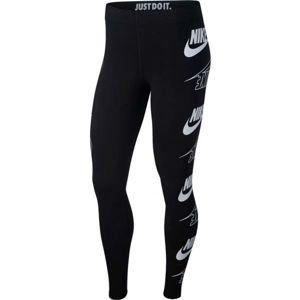 Nike NSW LEGASEE LGGNG FLIP bílá M - Dámské legíny