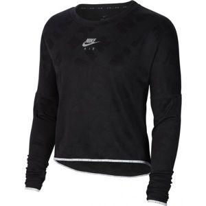 Nike AIR MIDLAYER CREW W černá M - Dámské běžecké triko