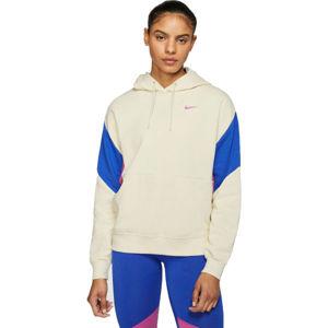 Nike NSW PO FT CB W béžová M - Dámská mikina