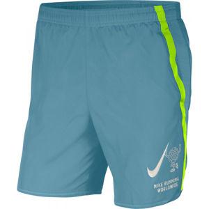 Nike CHALLENGER modrá S - Pánské běžecké šortky