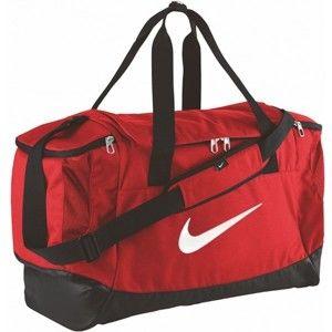 Nike CLUB TEAM SWOOSH DUFF M červená NS - Sportovní taška