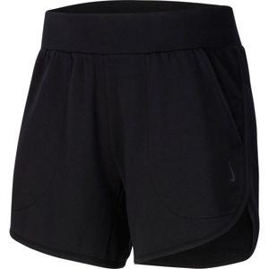 Nike YOGA SHORT W černá M - Dámské šortky