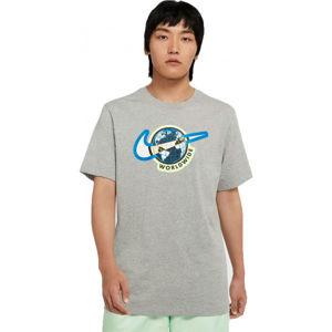 Nike NSW SS TEE SWOOSH WORLDWIDE M  M - Pánské tričko