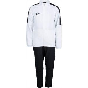 Nike DRY ACDMY18 TRK SUIT W Y bílá M - Chlapecká fotbalová souprava