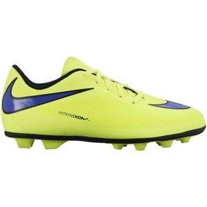 Nike JR HYPERVENOM PHADE FG-R žlutá 5.5Y - Dětské lisovky