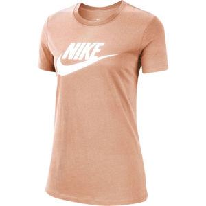 Nike NSW TEE ESSENTIAL W oranžová M - Dámské tričko