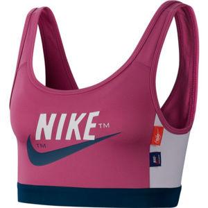 Nike SWOOSH ICNCLSH BRA PAD červená L - Dámská sportovní podprsenka