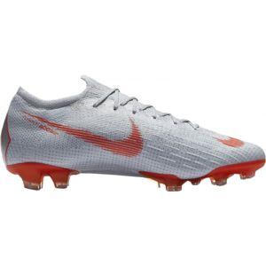 Nike VAPOR 12 ELITE FG bílá 9 - Pánské kopačky