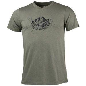 Northfinder ABELIN zelená XL - Pánské outdoorové tričko