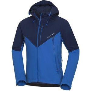 Northfinder FLETCHER tmavě modrá L - Pánská softshellová bunda